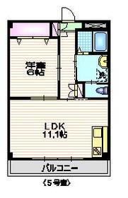 プランドールK122階Fの間取り画像