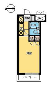 スカイコート世田谷第45階Fの間取り画像