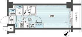 フェニックス新横濱エオール4階Fの間取り画像