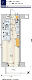 スカイコートパレス押上Ⅱ8階Fの間取り画像