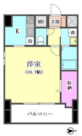 アルカディア西蒲田 801号室