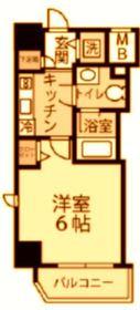 グランヴァン横濱反町1階Fの間取り画像
