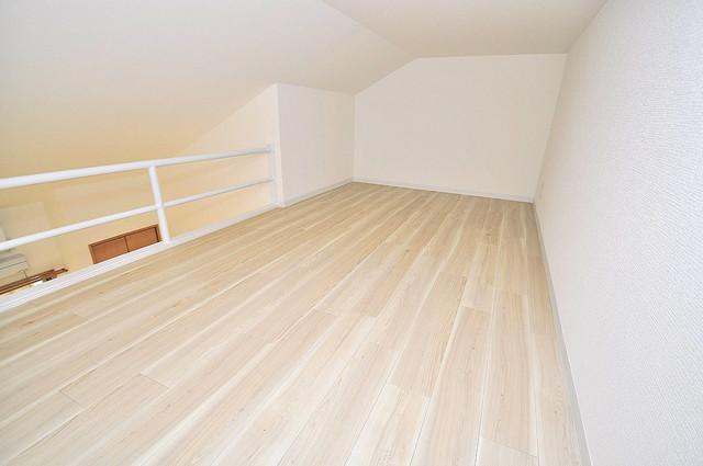 Realize長瀬 ロフトがあればお部屋も片づきますね。