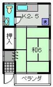 天王町駅 徒歩25分1階Fの間取り画像