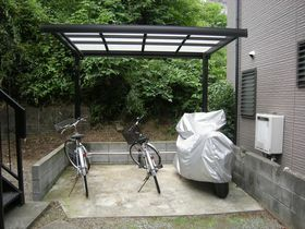 入居者用駐輪スペース!