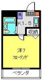 コパーズアプト港南ⅣパートⅡ3階Fの間取り画像