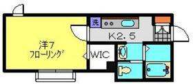 メゾン・エス2階Fの間取り画像
