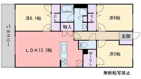 RJRプレシア高取7階Fの間取り画像