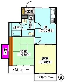 メゾンマルス 202号室