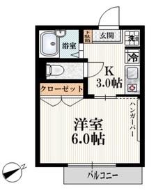 Y,F,Mansion1階Fの間取り画像