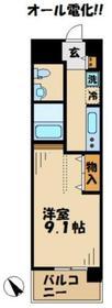 リココリーナ2階Fの間取り画像