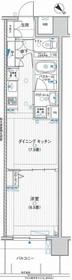 エルエープライル新横浜7階Fの間取り画像