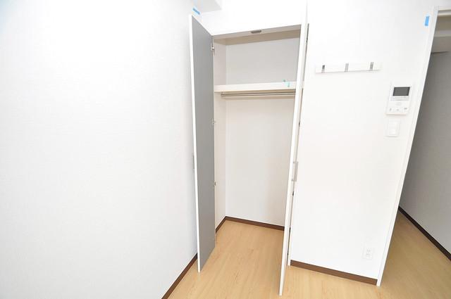 ヴェルドミール小阪 もちろん収納スペースも確保。いたれりつくせりのお部屋です。