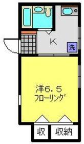 小玉マンション2階Fの間取り画像