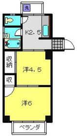 斉藤マンション3階Fの間取り画像