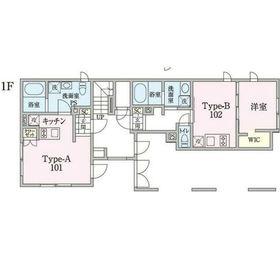 MDM阿佐ヶ谷2階Fの間取り画像