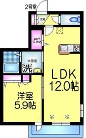 メゾン・ド・フォレ3階Fの間取り画像