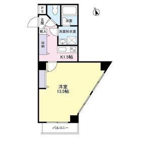 アビタシオン3階Fの間取り画像