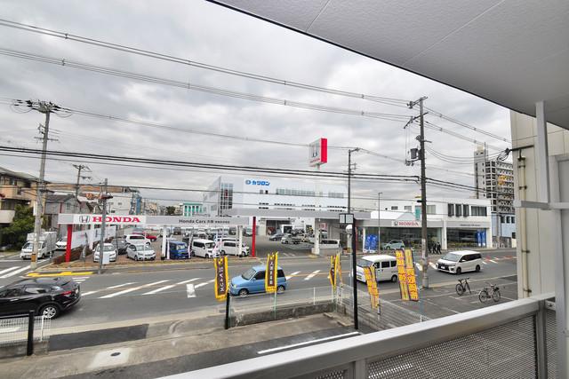 シティーコア高井田Ⅱ この見晴らしが陽当たりのイイお部屋を作ってます。