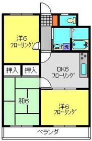 パストラルネムラ3階Fの間取り画像
