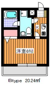 成増駅 徒歩21分3階Fの間取り画像