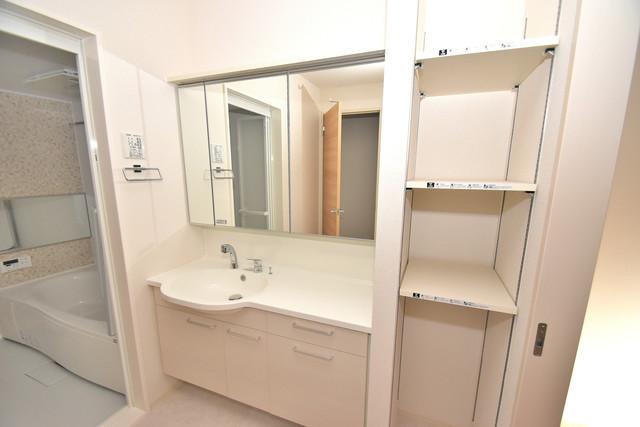 Queen Serenity(クイーンセレニティ) 独立した洗面所には洗濯機置場もあり、脱衣場も広めです。