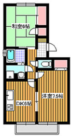 和光市駅 徒歩11分1階Fの間取り画像