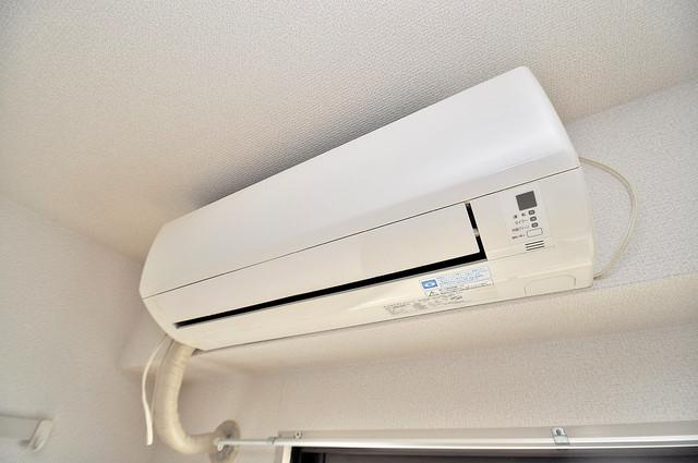 ラフォーレ菱屋西 エアコンが最初からついているなんて、本当に助かりますね。