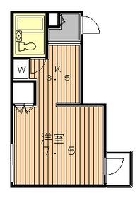 メゾン代田1階Fの間取り画像