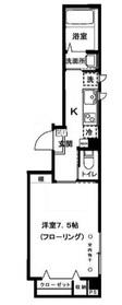 エルフ ヨヨギ2階Fの間取り画像