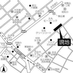 文京グリーンコートテラス案内図