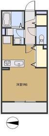ソレイユ シャルマン3階Fの間取り画像