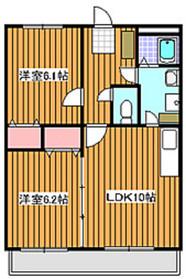 東武練馬駅 徒歩17分1階Fの間取り画像