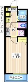 リヴェール長津田3階Fの間取り画像