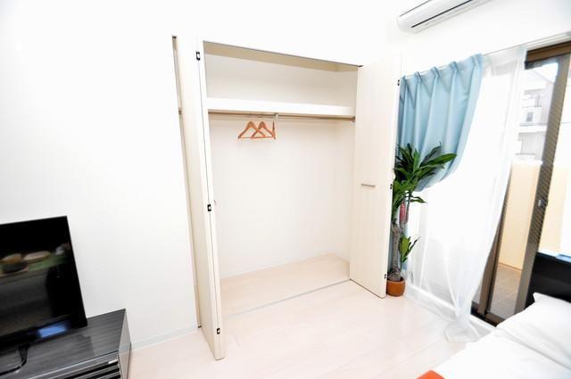 Luxe布施駅前 もちろん収納スペースも確保。おかげでお部屋の中がスッキリ。
