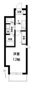 (仮称)池袋本町2丁目メゾン3階Fの間取り画像