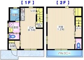 奈良町メゾン1階Fの間取り画像