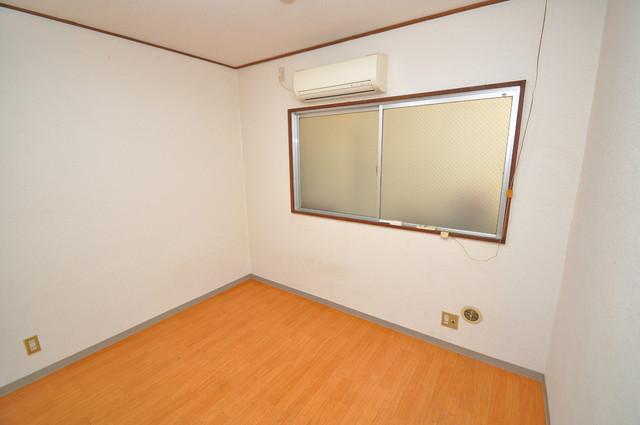 小路東ハイツⅡ 陽当りの良いベッドルームは癒される心地良い空間です。