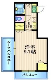 マ・メゾン ボヌール3階Fの間取り画像