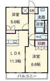 上永谷駅 徒歩12分2階Fの間取り画像