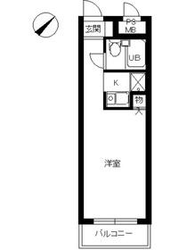 スカイコート本郷東大前1階Fの間取り画像