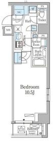 THE AXIS KOJIMACHI4階Fの間取り画像
