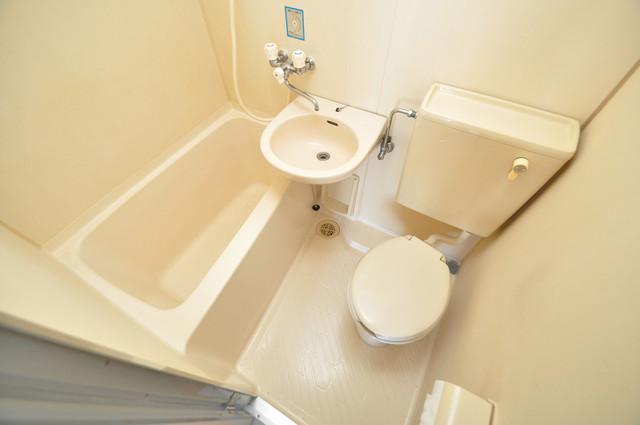 シティハイツ布施 コンパクトですが機能性のあるトイレです。