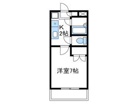 メゾン相模野2階Fの間取り画像
