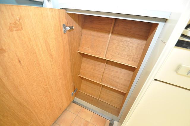 ロータリーマンション永和 玄関にはコンパクトながらシューズボックスもありますよ。