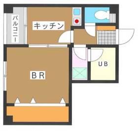 キミシゲビル3階Fの間取り画像