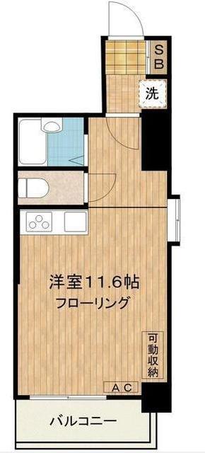 広尾駅 徒歩10分間取図