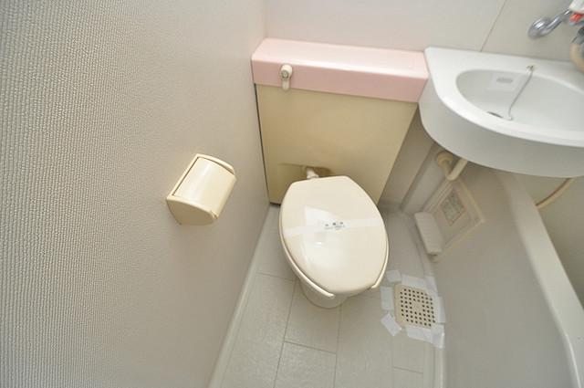オーキッド・ヴィラ今里 お風呂・トイレが一緒なのでお部屋が広く使えますね。