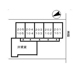 ハイツ・ハセガワ 101号室