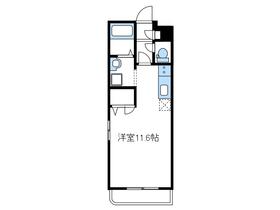 アルバエトワール3階Fの間取り画像
